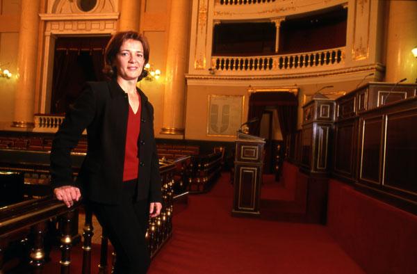 La primera campeona olímpica española, Miriam Blasco, es una de las diputadas más activas del Congreso.