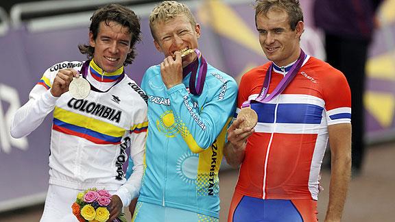 Sergio Henao rozó ser campeón olímpico en Londres. Tan sólo Alexander Vinokourov le privó del sueño.