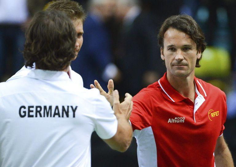 Por segundo año consecutivo España ha caído en primera ronda de la Copa Davis.