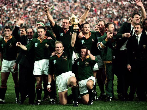Los Springboks consiguieron la Copa del mundo de rugby y la unión del país.