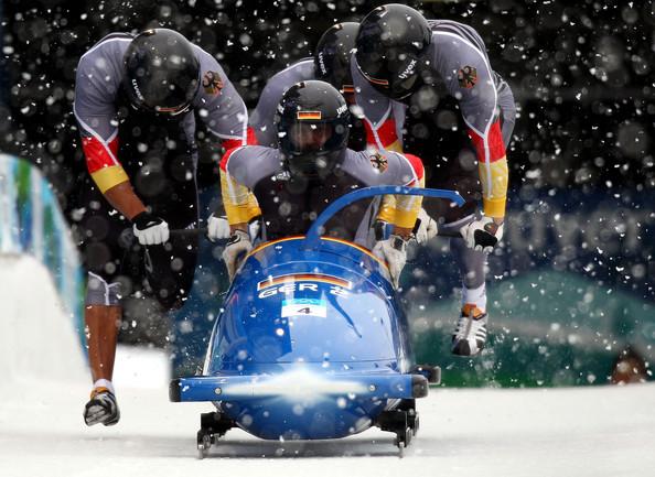El Bobsleigh es un deporte espectacular en el que se superan los 150 kilómetros por hora.