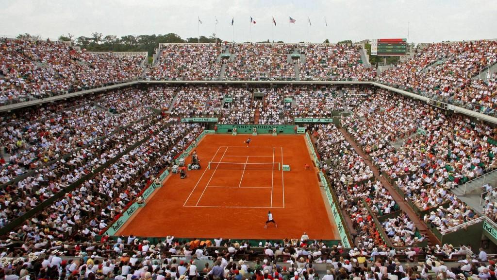 El Stade Roland Garros, templo mítico del tenis.