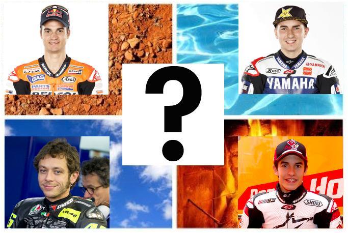 Pedrosa, Lorenzo y Valentino Rossi serán de nuevo junto a Márquez los grandes aspirantes al trono de Moto GP.