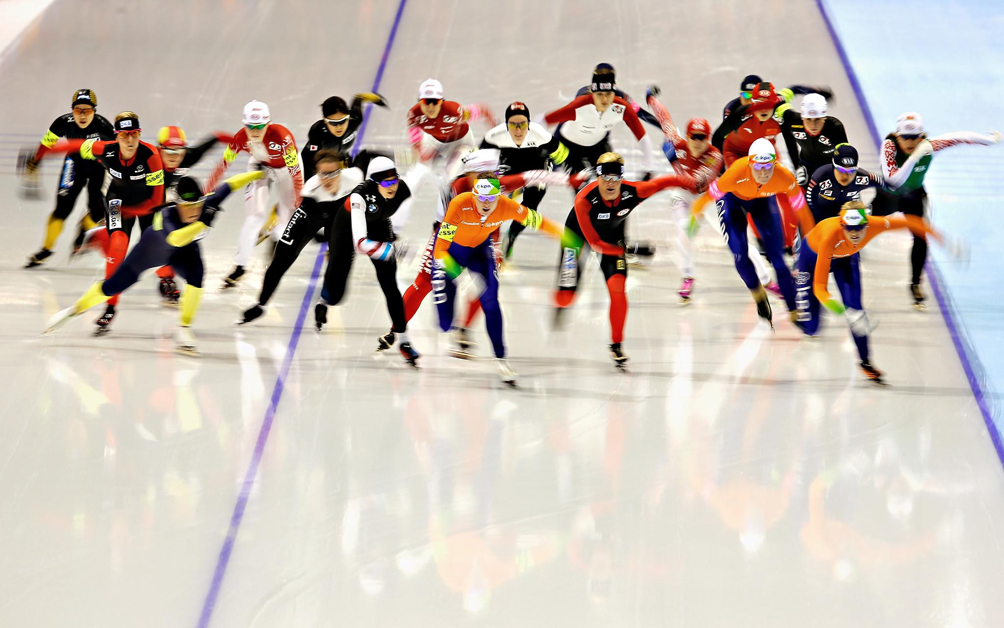 Las carreras en pista corta son una prueba apasionante (Foto:  espn.go.com)