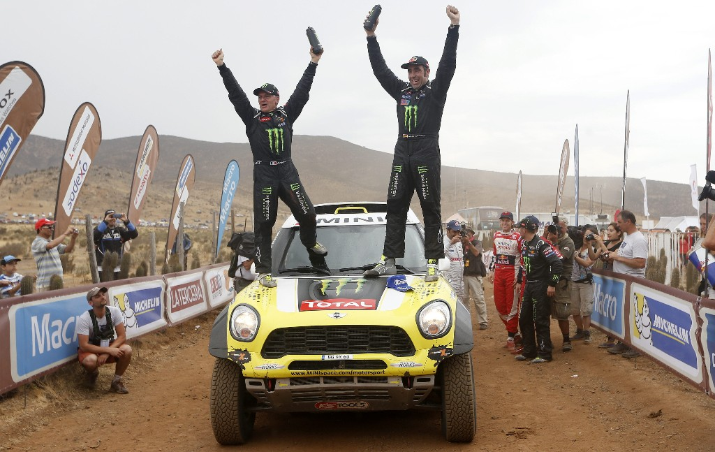 Nani Roma no podrá repetir su triunfo en el Dakar de 2014.