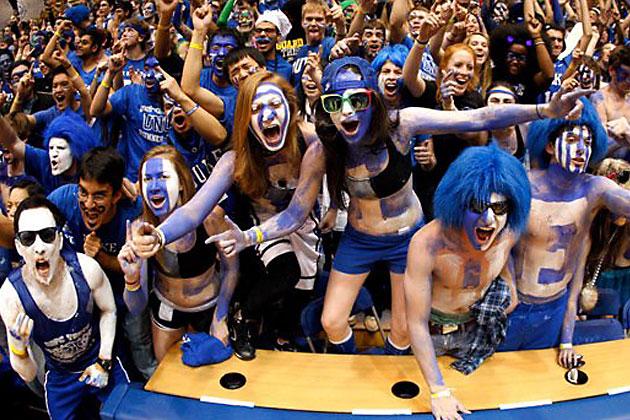 El ambiente de la Final Four del baloncesto universitario en Estados Unidos es único.