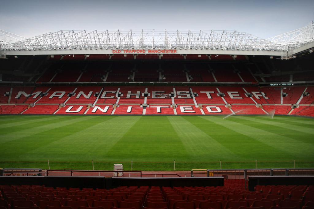 """Conocido también como """"El Teatro de los sueños"""", Old Trafford es uno de los estadios icónicos de Inglaterra."""