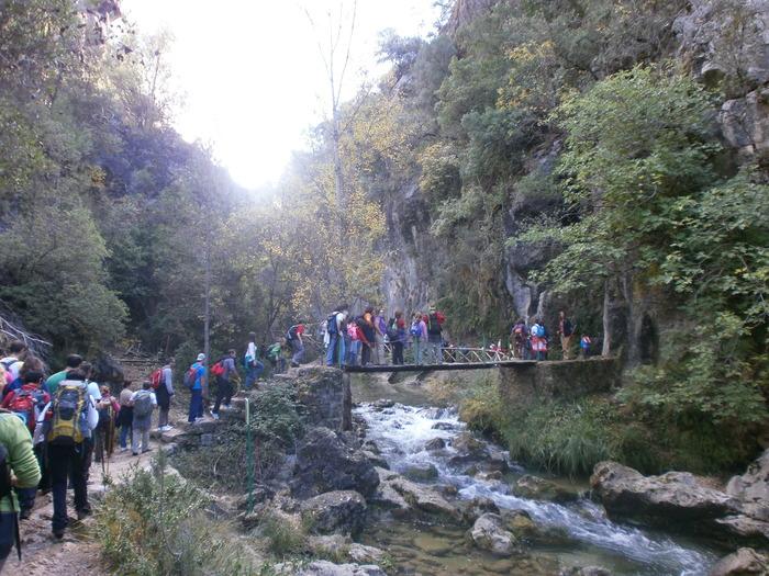 El Río Borosa nos sorprende con lugares maravillosos.