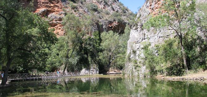 La belleza de la Ruta del Monasterio de Piedra.