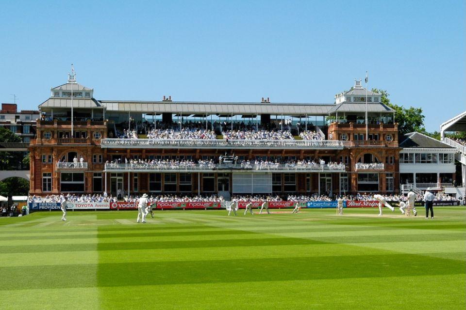 Las grada Pavilion es la más impresionante del Lord´s Cricket Ground.