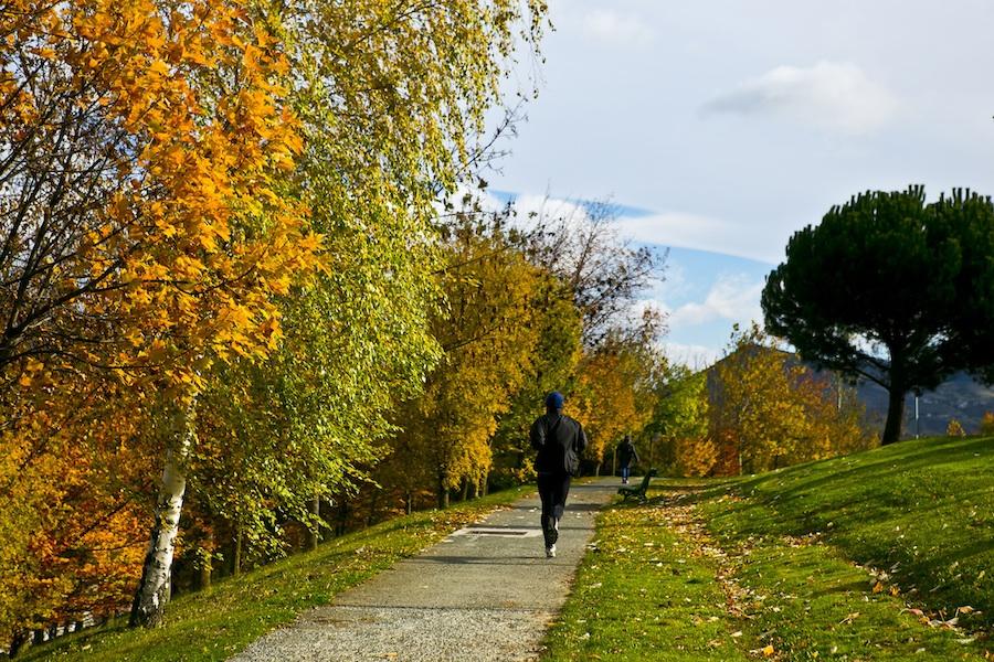 Correr es una actividad sencilla y a la vez muy saludable. (Foto: www.pamplonamegusta.com).
