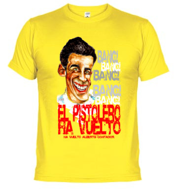 Camiseta Alberto Contador