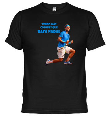 camiseta de Rafa Nadal