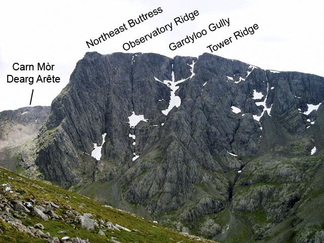 El Ben Nevis, la cima más alta del Reino Unido, es un destino predilecto por los practicantes de la escalada.