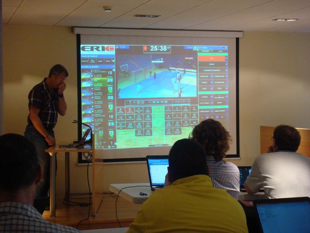 Er1c se ha convertido en el mejor amigos de los entrenadores para analizar vídeos deportivos.