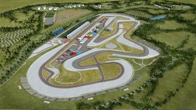 Autódromo de Estoril, donde se disputa el Gran Premio de Motociclismo de Portugal.