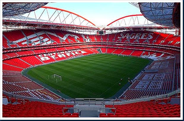 Estadio da Luz, escenario de la final de la Champions League 2014