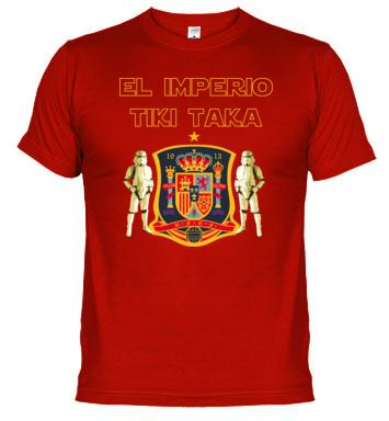 Si comulgas con el Tiki Taka, esta es tu camiseta.