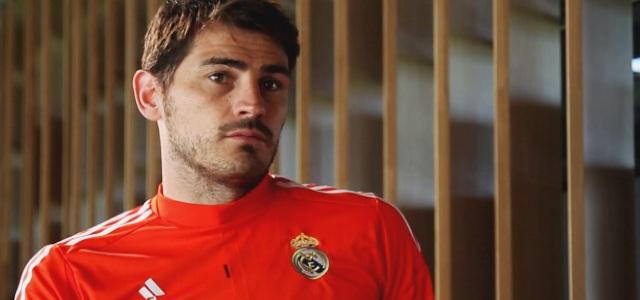 Iker Casillas, en una imagen del documental 'Generación 99'.