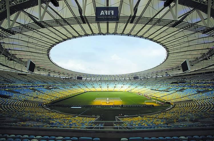 El estadio de Maracaná, el más mítico de la historia del fútbol.