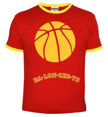 Si quieres mostrar tu amor al baloncesto hazte con esta camiseta clicando en la imagen.