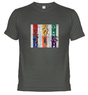 Jordan, Magic Johnson, Larry Bird, Olajuwon, Ewing o Barkley en una misma camiseta.