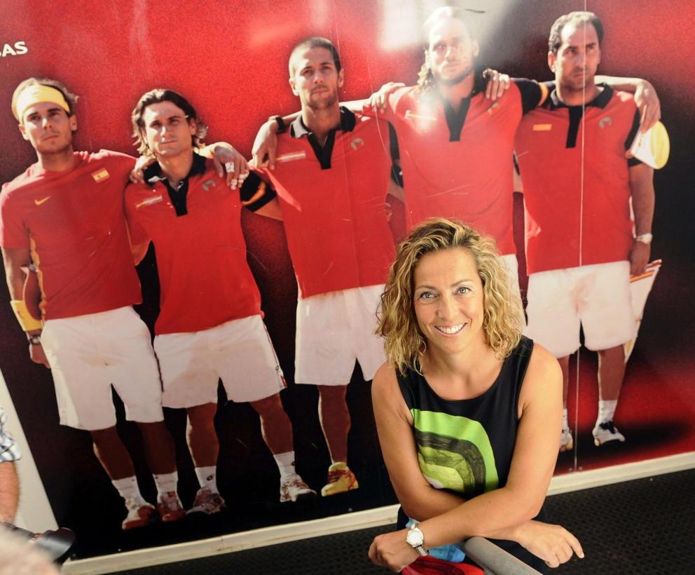 Gala León es la nueva capitana del equipo español de Copa Davis, una decisión que ha generado una gran controversia (Foto: www.elconfidencial.com)