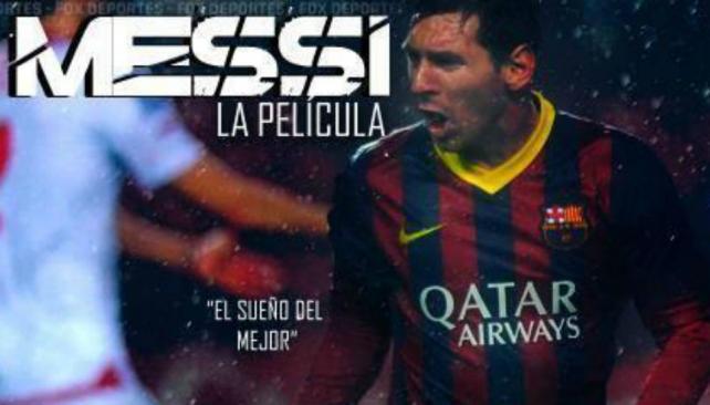 La película contiene entrevistas, imágenes de archivo y relatos ficcionados de la infancia de Messi.