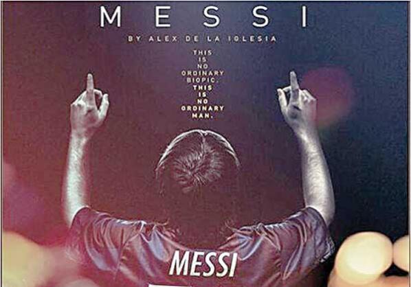 Portada del documental de Messi, dirigido por Alex de la Iglesia