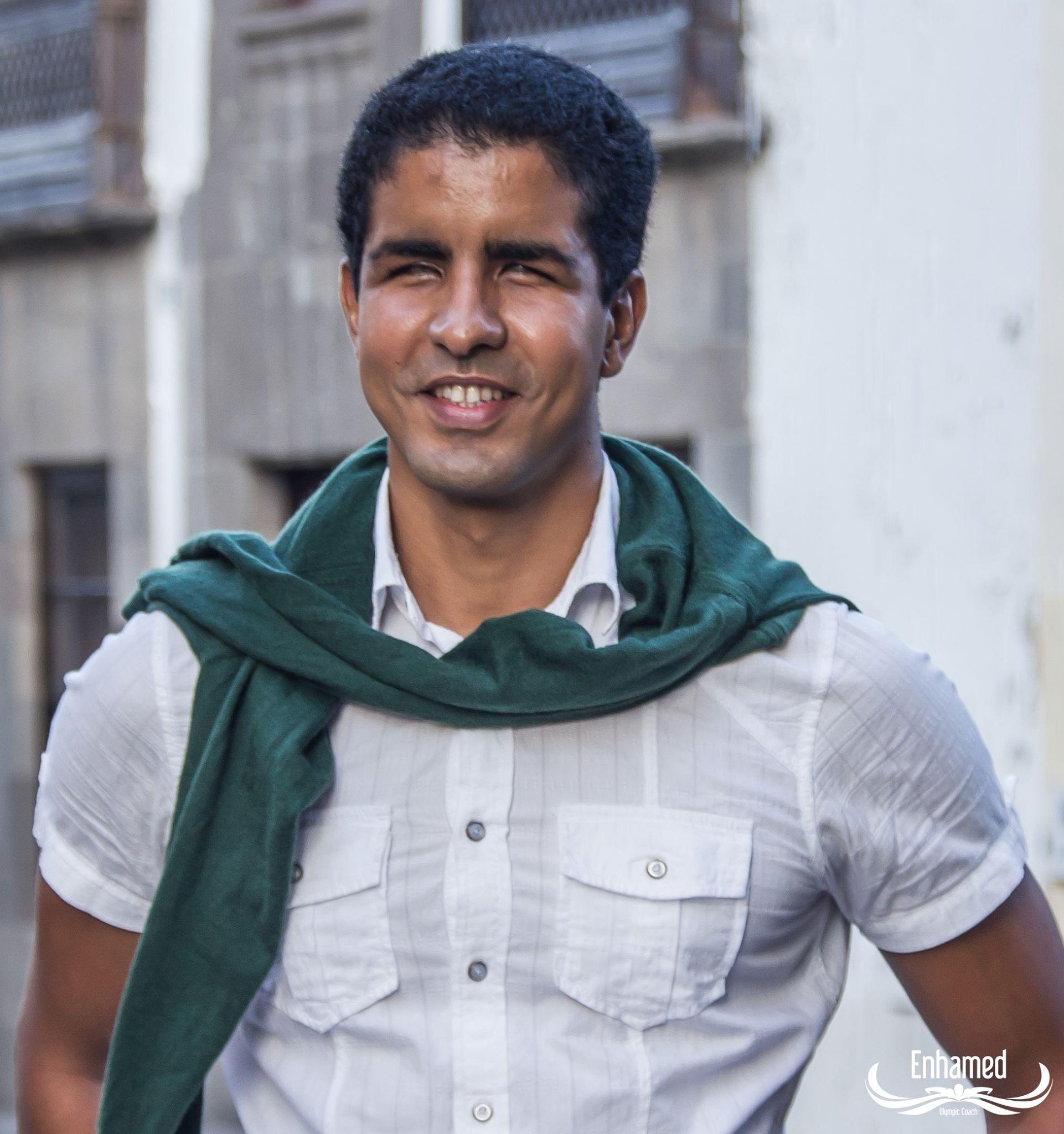 Enhamed Enhamed ha conseguido hacer de la superación de retos una forma de vida.