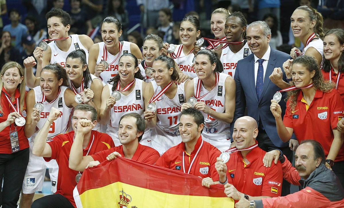 La selección de baloncesto acaba de conseguir su mejor resultado histórico en Turquía como subcampeona del mundo