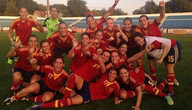 La selección femenina de fútbol ha conseguido clasificarse por primera vez para un mundial absoluto