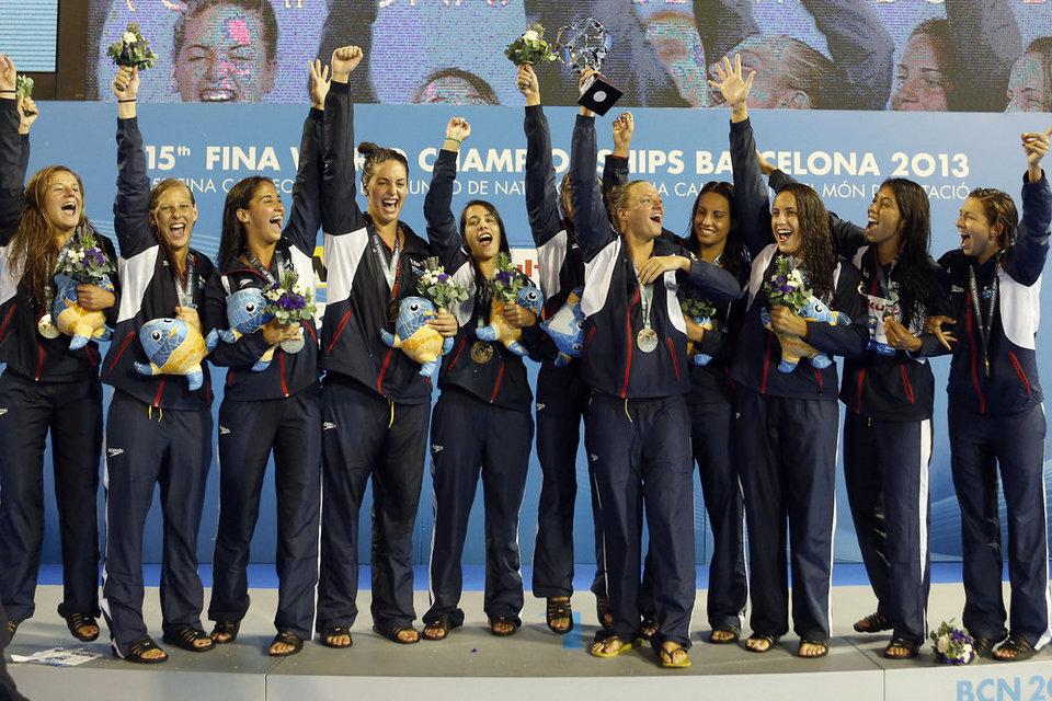 Subcampeonas olímpicas en Londres 2012, la selección de waterpolo consiguió el oro en el mundial de Barcelona 2013.