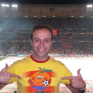 Gerardo Bernardo, el coleccionista de estadios de fútbol