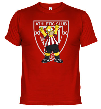 camiseta Leones Athletic Homer