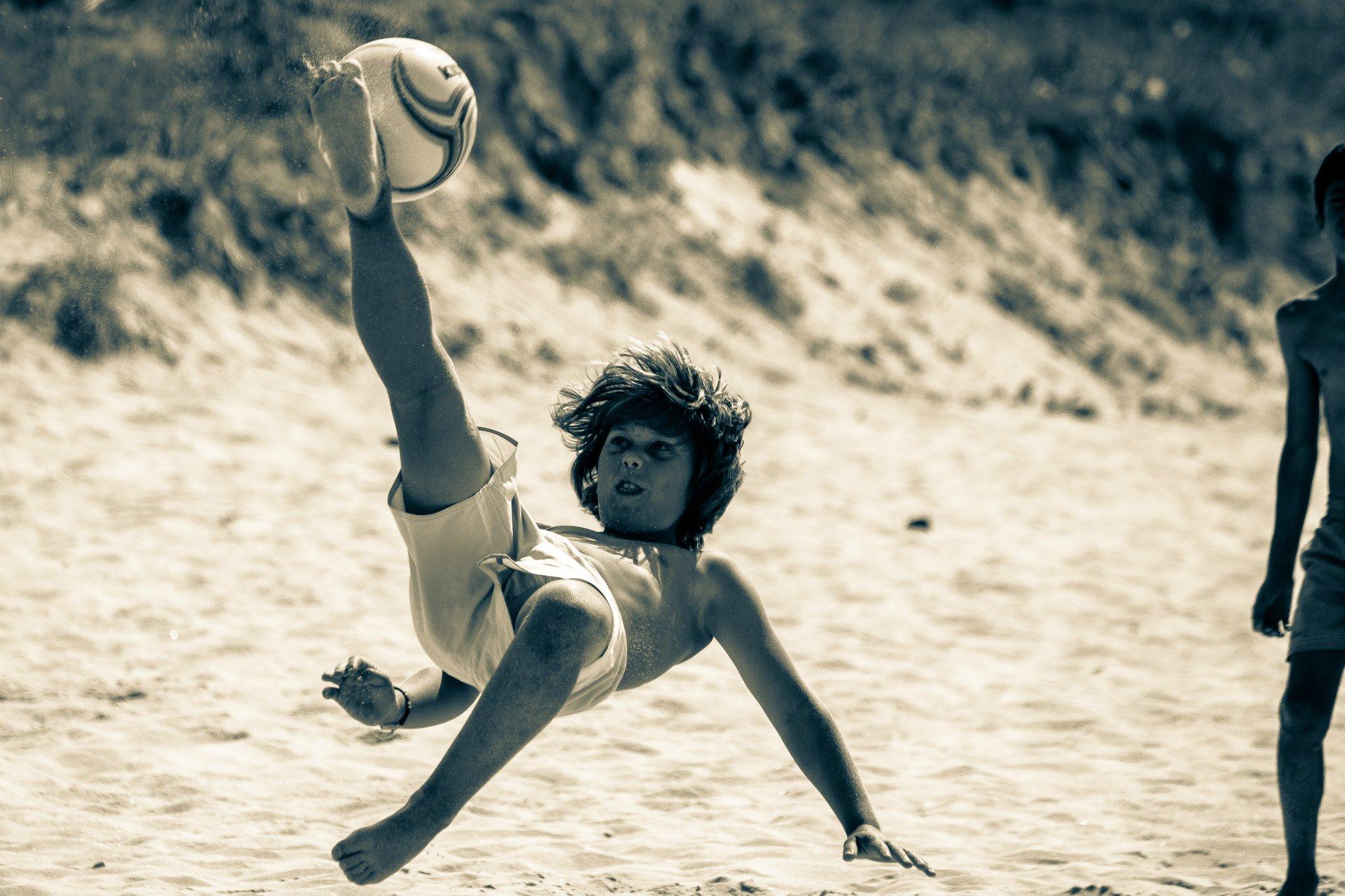El deporte significa diversión pero, también, aprendizaje. (Foto: Víctor Fernández-Peñaranda).