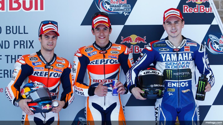 Los tres grandes pilotos españoles de Moto GP han fijado su residencia fiscal fuera de España.