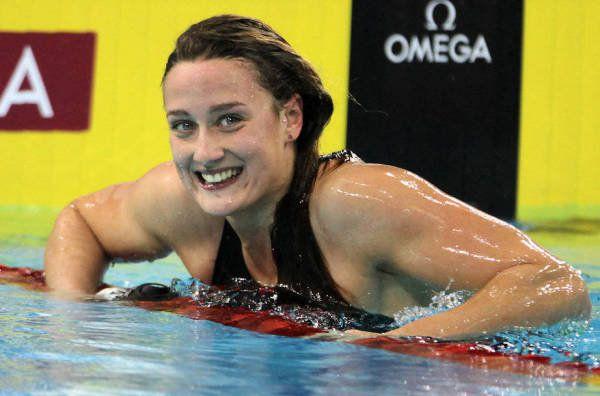 Mireia Belmonte se ha confirmado en 2014 como una de las mejores nadadoras del mundo.