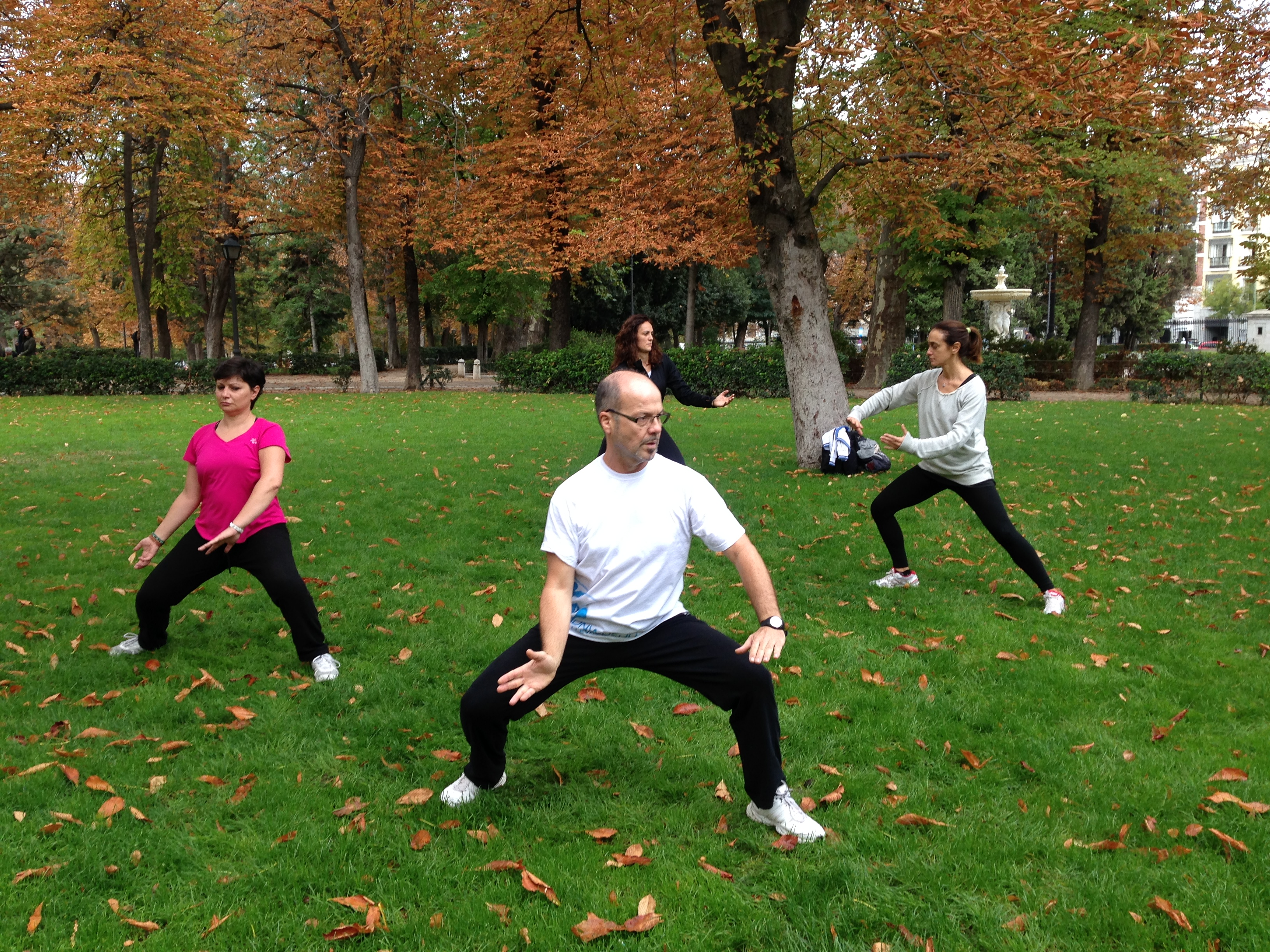 Una de las ventajas del Tai Chi es que puede practicarse casi en cualquier lugar.