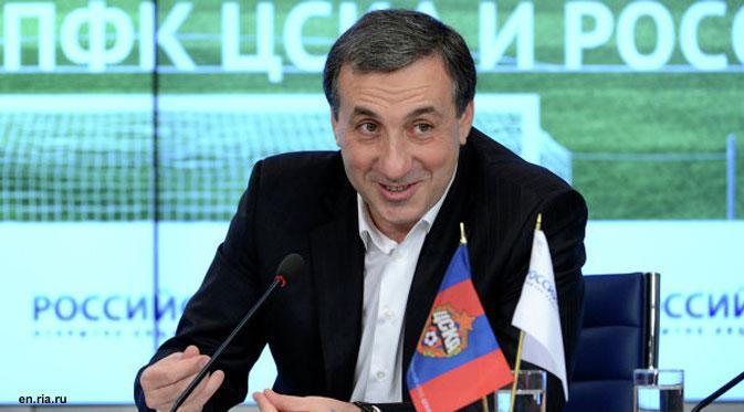 Yevgeny Giner comenzó como vendedor junto al mítico estadio de Luzhniki.
