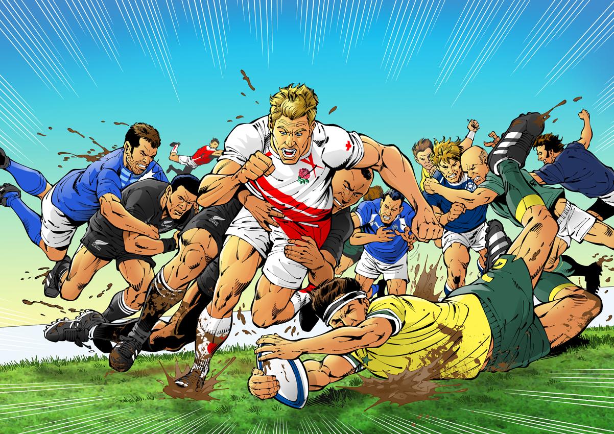 El diccionario del rugby