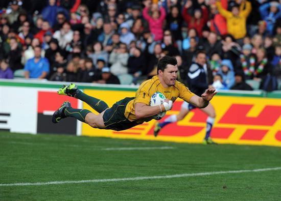 El ensayo supone el clímax en un partido de rugby.