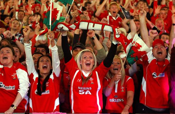 En el pequeño país de Gales el rugby es prácticamente una religión.