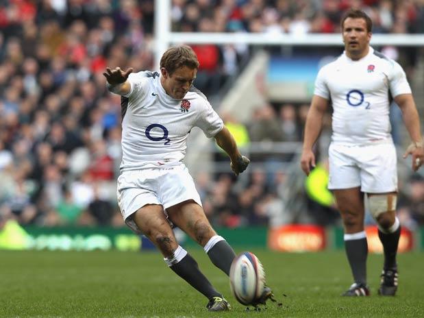 Jonny Wilkinson fue decisivo en el triunfo de Inglaterra en el mundial de 2003.