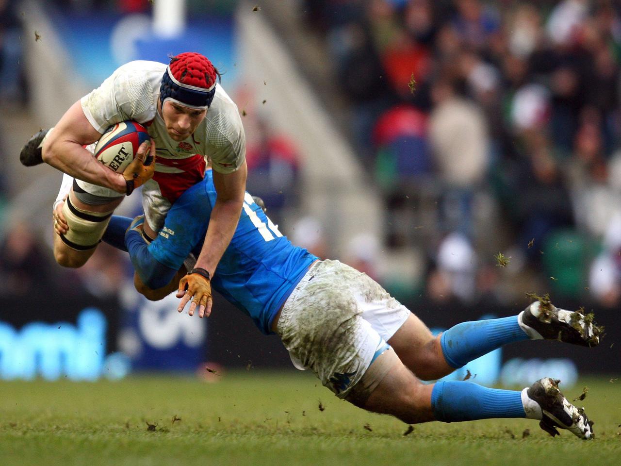 El placaje es la acción defensiva más espectacular del rugby.