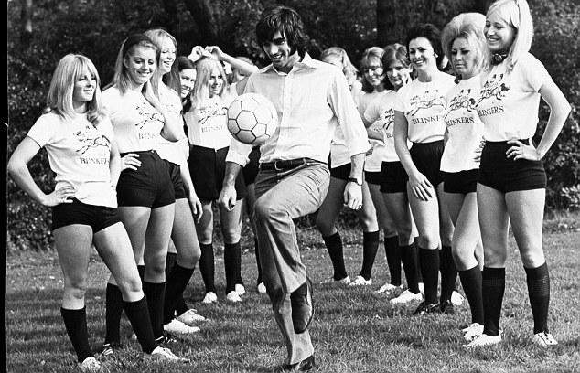 Genial dentro del campo y excesivo fuera, George Best es uno de los grandes sietes históricos.
