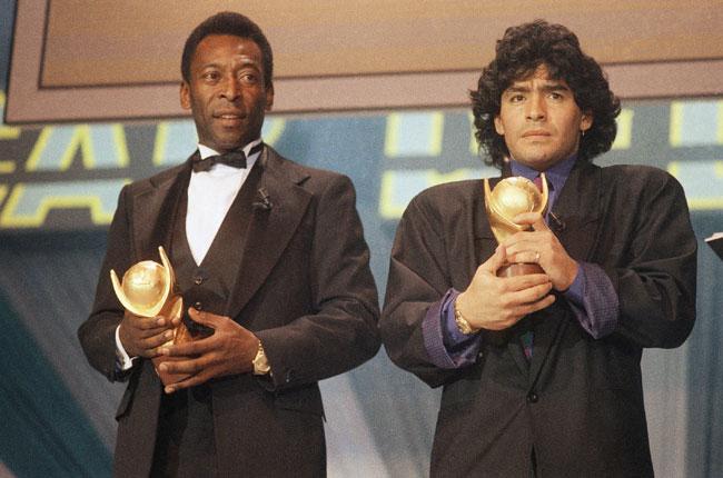 Maradona y Pelé han protagonizado encuentros y desencuentros.