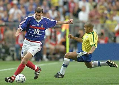 Con Francia Zinedine Zidane fue campeón y subcampeón del mundo.