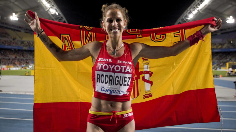 El paso de Natalia Rodríguez por la política municipal ha sido efímero para centrarse en su carrera deportiva.