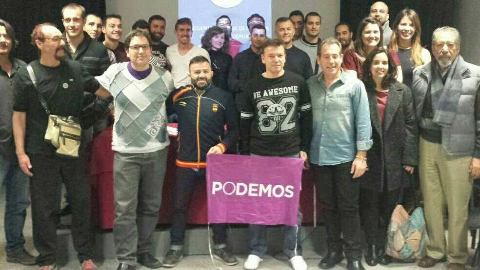El judoca profesional Oscar Peñas se ha unido a Podemos y a ya trabaja en las medidas para el deporte en su programa electoral